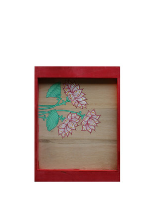Lotus Tray, Red, Small Stationery By Collective Craft