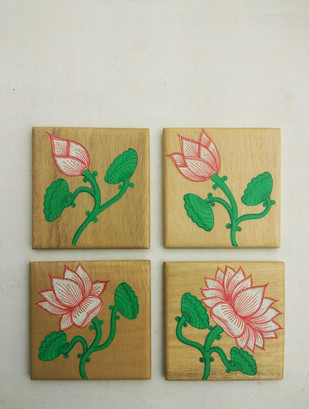 Lotus Coasters Table Ware By Collective Craft