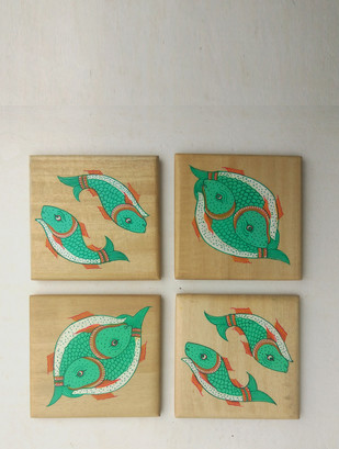 Fish Coasters Table Ware By Collective Craft