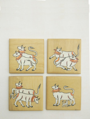 Cow Coasters Table Ware By Collective Craft