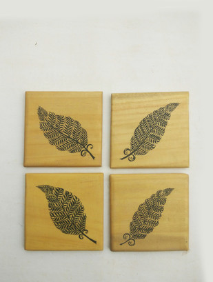 Leaf Coasters Table Ware By Collective Craft
