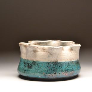 Peace- Raku fired by Meenakshi Garodia, Art Deco Sculpture | 3D, Ceramic, Brown color