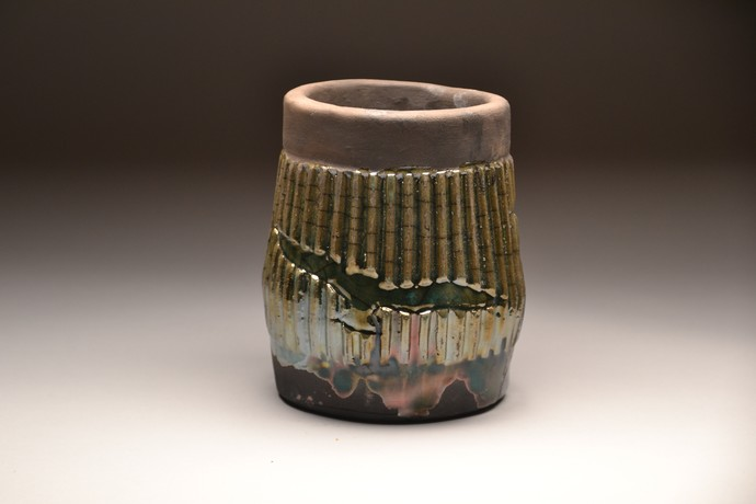 Una Paloma Blanca- Raku Fired by Meenakshi Garodia, Art Deco Sculpture | 3D, Ceramic, Brown color