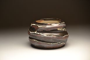 Lush by Meenakshi Garodia, Abstract Sculpture   3D, Ceramic, Brown color