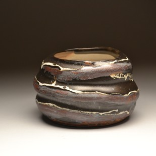 Lush by Meenakshi Garodia, Abstract Sculpture | 3D, Ceramic, Brown color