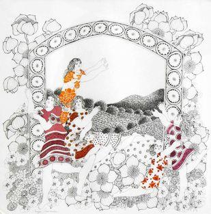 Untitled Artwork By Maya Burman