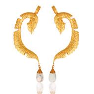 DENDRITIC OPAL EAR CUFF by MYO , Contemporary Earring