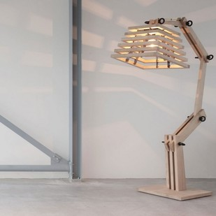 The Brighter Side Robbie wooden table lamp Table Lamp By The Brighter Side