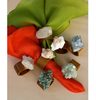 Crested napkin rings Accessories By Tessera