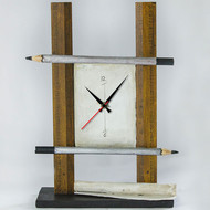 Ruler Pencil Table Clock Clock By THE ART SPA