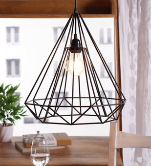 The Brighter Side Sergio black diamond pendant light Ceiling Lamp By The Brighter Side