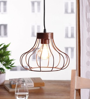 The Brighter Side Ibarra copper brown pendant light Ceiling Lamp By The Brighter Side
