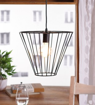 The Brighter Side corral black pendant light Ceiling Lamp By The Brighter Side