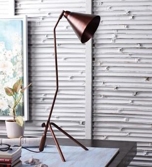 The Brighter Side Portia copper table lamp Table Lamp By The Brighter Side