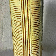 Linear vase