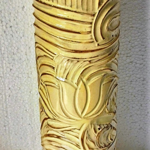 Lotus vase Decorative Vase By Wind Glaze