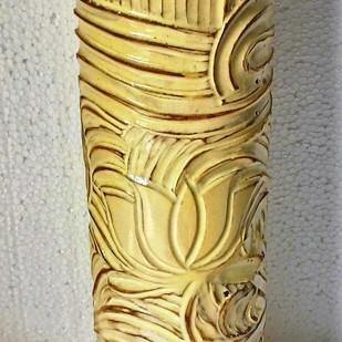 Lotus vase Decorative Vase By Wind Glaze