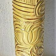 Lotus vase side 1