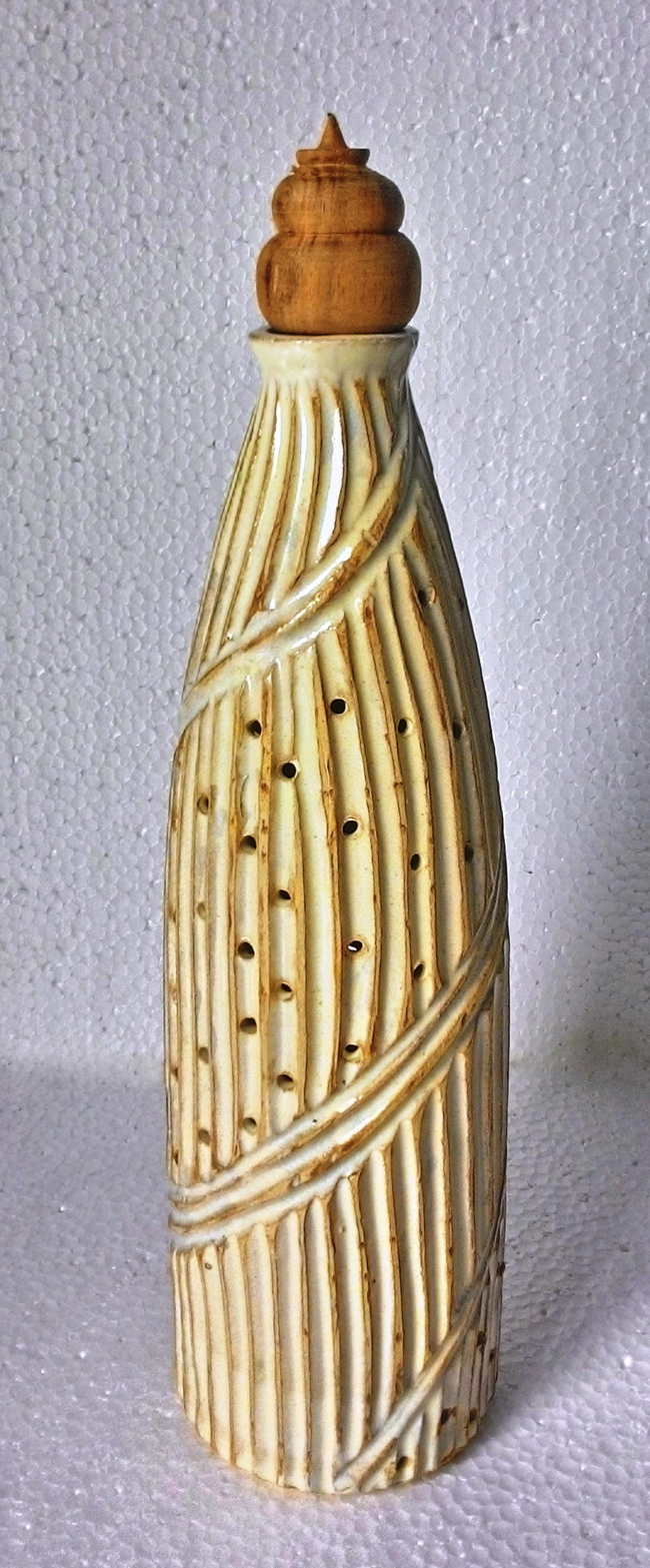 round bottle incense holder Artifact By Wind Glaze