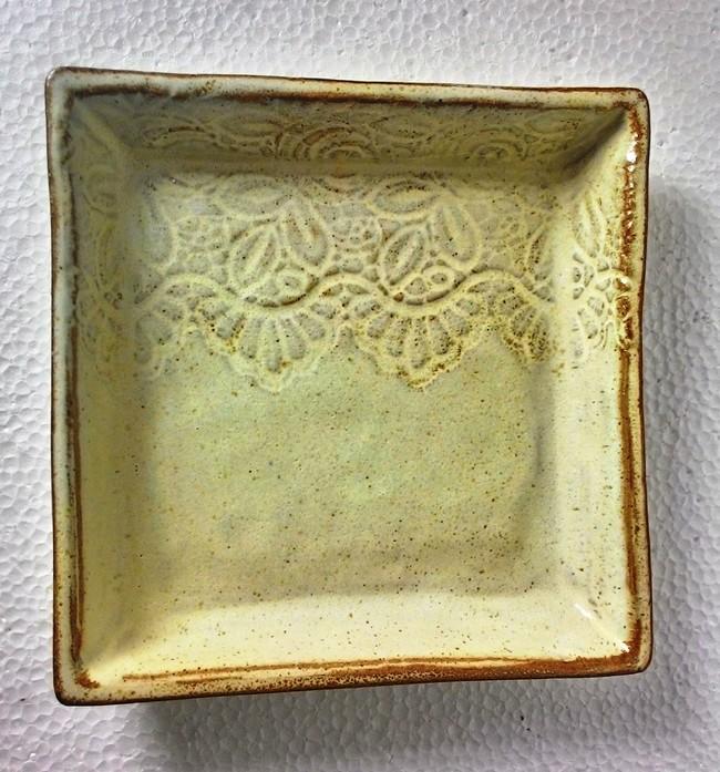 Lace tray Serveware By Wind Glaze