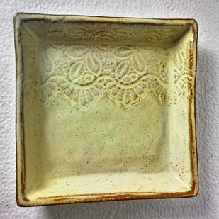 Lace tray Serveware By Wind Glaze