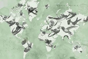 Migration of Birds Digital Print by Goldberger, Jennifer,Decorative