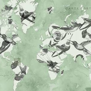 Migration of Birds Digital Print by Goldberger, Jennifer,Decorative