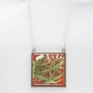 Square 45mm necklace 16