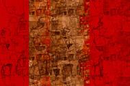 untitled 1304 by Arvind Patel, Digital Digital Art, Digital Print on Archival Paper, Red color