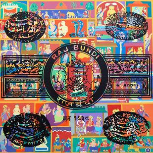 Transparency - Stamp Series Artwork By Malchand Pareek