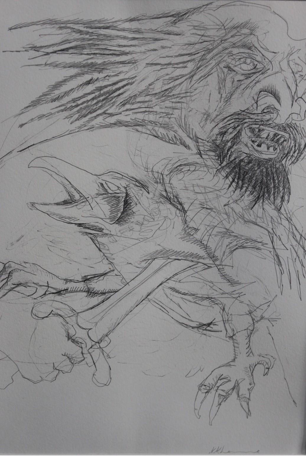 Pencil Art Ramayon