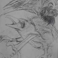 Krishen khanna drawing 2