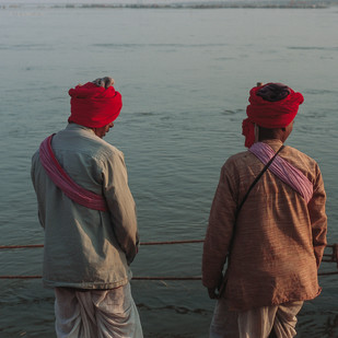 Pilgrims by Sahastrarashmi SR, Image Photography, Digital Print on Archival Paper, Gray color