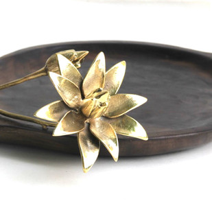 LOTUS PUDDLE TRAY Tray By THE DESIGN FORGE