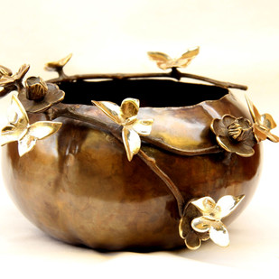 BUTTERFLY DECO PLANTER Artifact By THE DESIGN FORGE