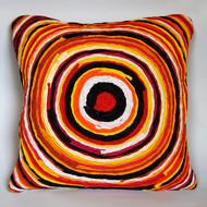 Chakri   yellow   cushion cover  16 x 16