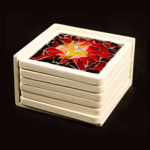 Coaster - Colour Burst Table Ware By Vandeep Kalra