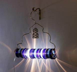 Jaipur Choori Lamp : Underwater Blue Wall Decor By Sahil & Sarthak