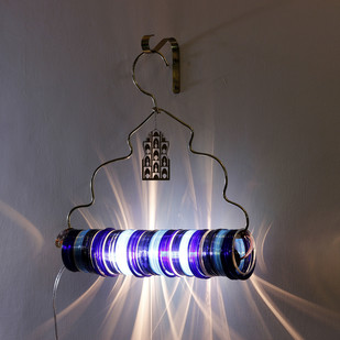 Jaipur Choori Lamp : Underwater Blue Wall Decor By Sahil & Sarthak