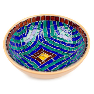 Bowl - Turkish Blue Bowl By Vandeep Kalra
