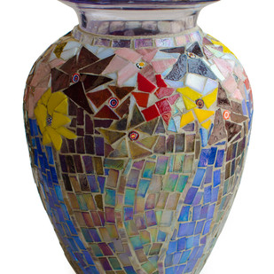 Vase - Floral Hydria Decorative Vase By Vandeep Kalra