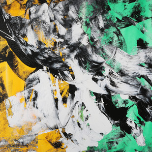 Roar of fury Digital Print by Bharat Thakur,Abstract, Abstract