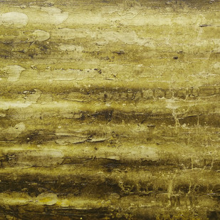 Peridia by Saravana Kumar, Abstract Painting, Acrylic on Canvas, Beige color
