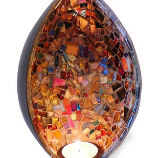 Wall T-Lite - Glimmer T-Light and Votive Holder By Vandeep Kalra
