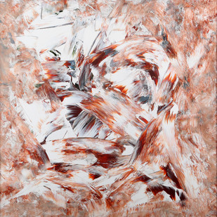 Aroma of a Sage by Bharat Thakur, Abstract Painting, Acrylic on Canvas, Brown color