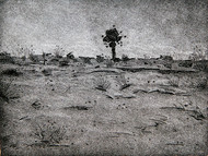 JUST AFTER THE SUNSET by Tapan Madkikar, Impressionism Printmaking, Etching and Aquatint, Gray color