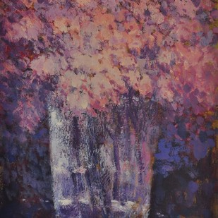 flower pot Digital Print by Zargar Zahoor,Impressionism