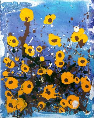 Warmth on a Blue Day Artwork By Priyadarshini Ohol