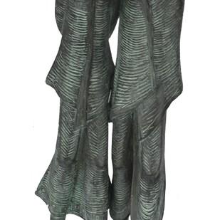 Untitled by N.S. Rana, Art Deco Sculpture | 3D, Bronze, Gray color