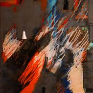Anita kulkarni   acrylic on canvas   48x36